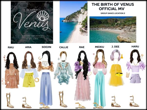 THE BIRTH OF VENUS - Group Dance 3