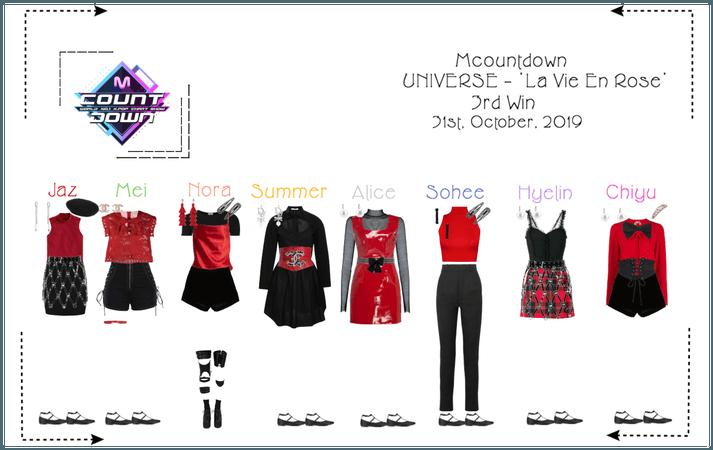 UNIVERSE Mcountdown Stage - 'La Vie En Rose'