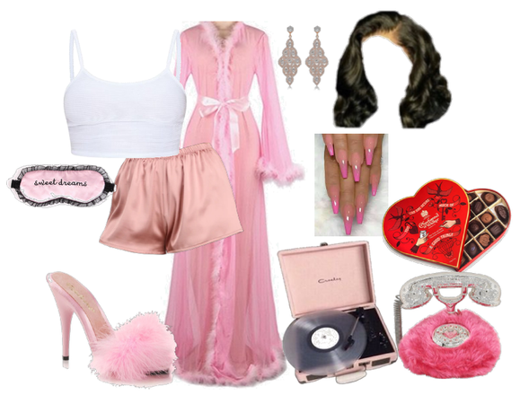 Romantic Pink Sleepwear