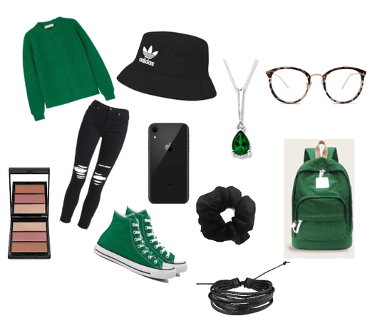 Cozy B and G (Black and Green)