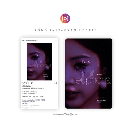 마리오네트 (𝗠𝗔𝗥𝗜𝗢𝗡𝗘𝗧𝗧𝗘) - [SUNNY] AOMG Instagram Post
