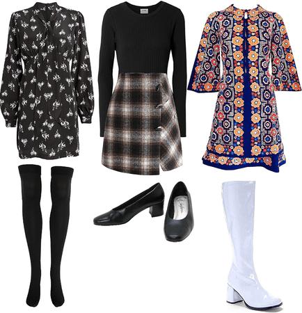 1960s timeless mini skirt
