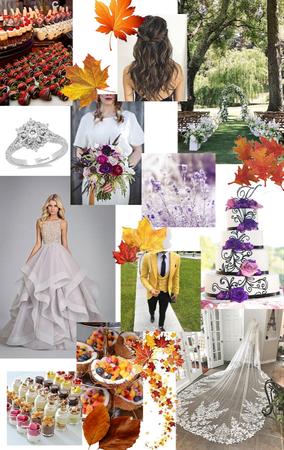 Fall Lake Wedding