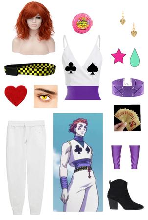 hisoka genderband cosplay