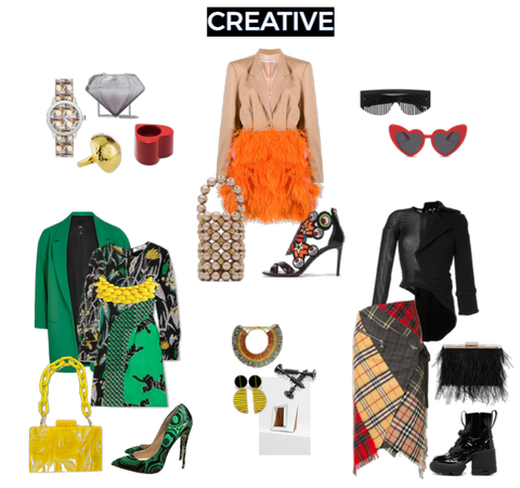 Creative outfit