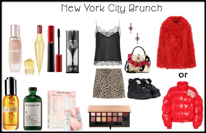 rich gal New York brunch