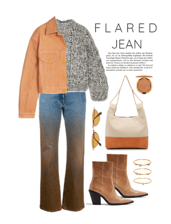 Flared Jean