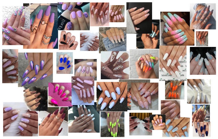 all the nails that i have done before