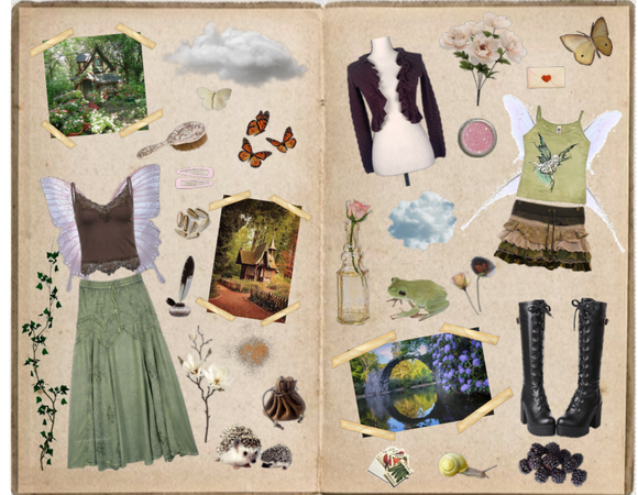 Fairy Grunge Inspo Journal