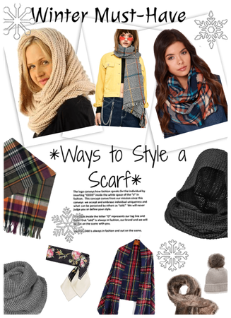 Winter must have/Ways to style a scarf