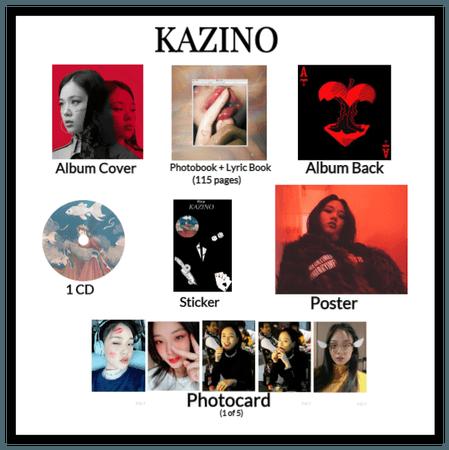 Broken Heart 'KAZINO' Album + Goodie