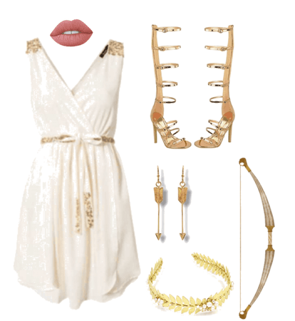 Greek style outfit