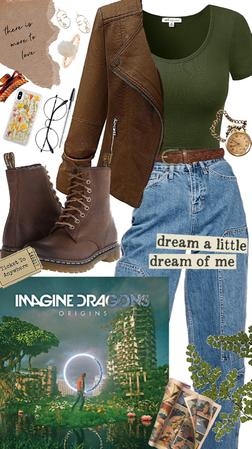 Imagine Dragons Album Cover