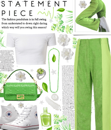 statement trousers 💚