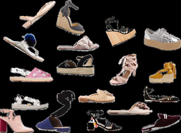 Лето 2018 .Обувь.