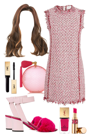 Pink Preppy Blaire Waldorf Style