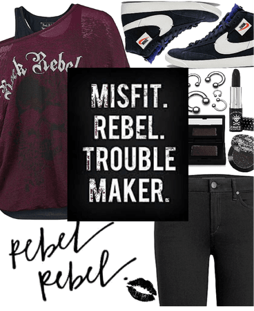 Misfit. Rebel. Trouble Maker.