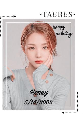 HEARTz//Happy Birthday Honey!