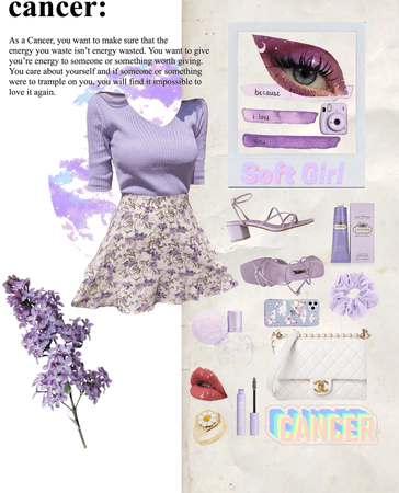 lilac cancer soft baby