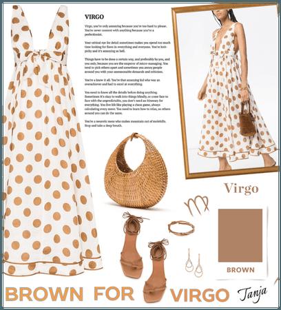 Brown for Virgo