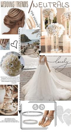 Summer Neutrals Wedding