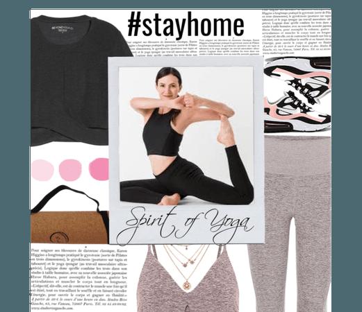 Y0ga #stayhome