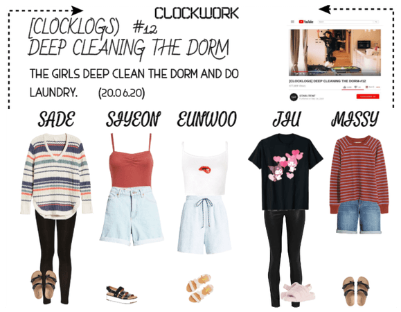 *CWK* | CLOCKLOGS EP.12 | DEEP CLEANING THE DORM