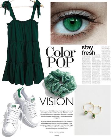 #Monochrome: Green