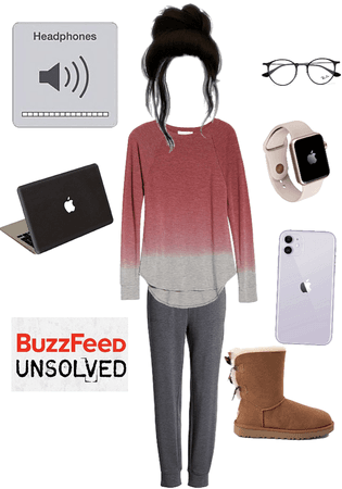 Buzzfeed Unsolved Binge Watch Oufit