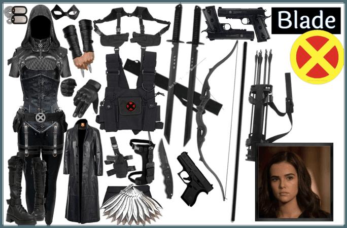 Blade (Blake) reference set (team uniform)