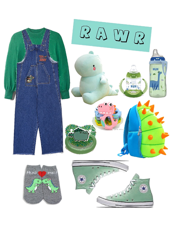 Dino Kid (age regression outfit)