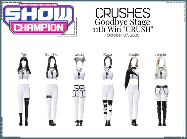 "Crushes (호감) ""CRUSH"" Goodbye Stage 11th Win"