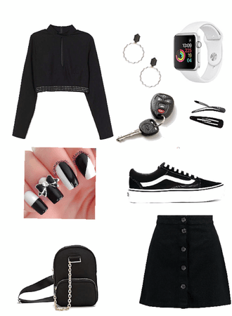 the casual black