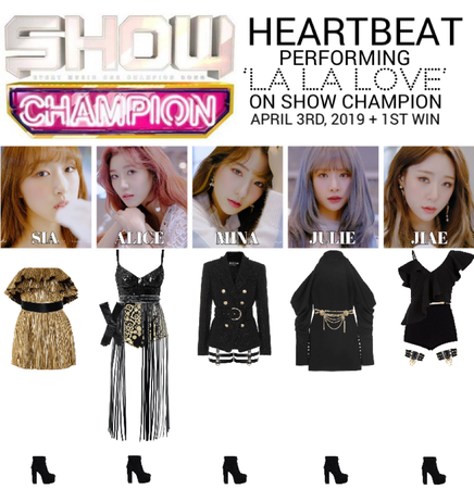 [HEARTBEAT] 'LA LA LOVE' SHOW CHAMPION STAGE + 1ST WIN