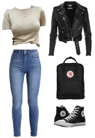 Outfit pantalón de jeans