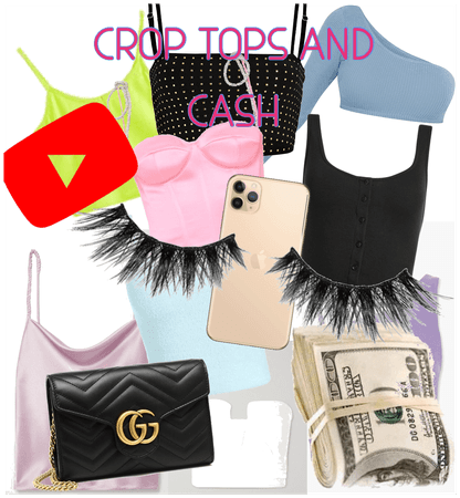 Crop tops and cash
