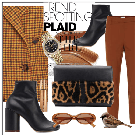 trend spotting:plaid