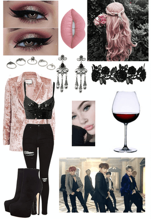 BTS Blood Sweat & Tears Outfit #2