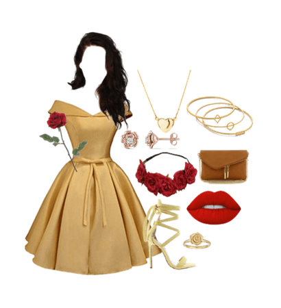Disney Inspired Prom: Belle (Beauty and the Beast)