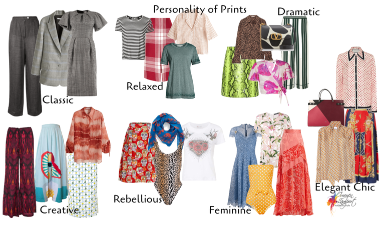 personality of prints and patterns
