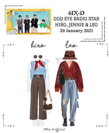 6IX-D [식스디] (HIRO & LEO) Radio Star 210120