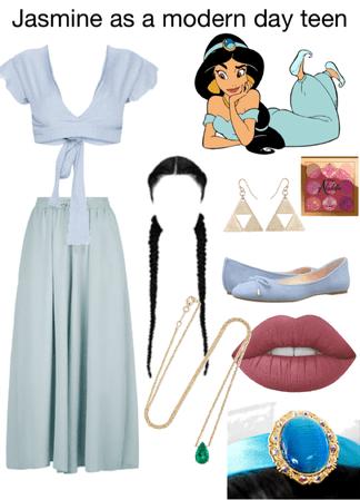 jasmine as a modern day teen