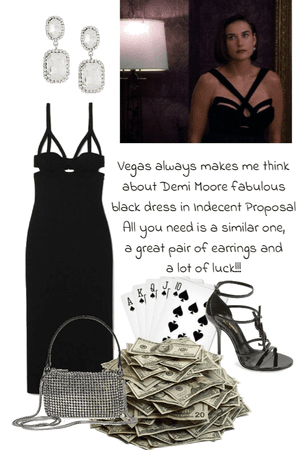 Black Dress for Vegas