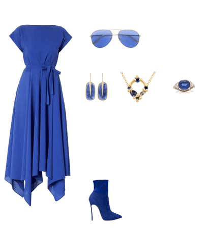 Blue and mysterious