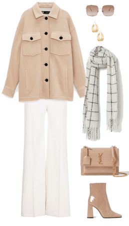 Soft White & Beige Chic