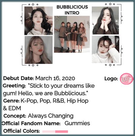 Bubblicious (신기한) Group Intro #2
