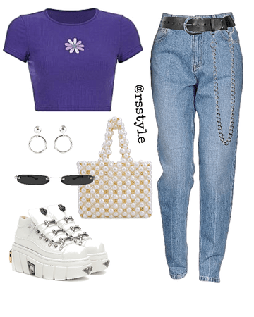 Purple casual