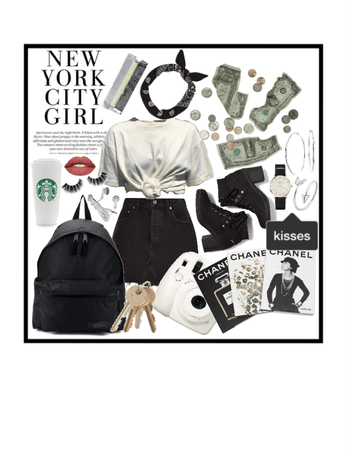 new york city girl x