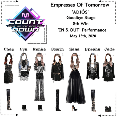 EOT(내일의 황후) | M Countdown: Goodbye Stage 'ADIÓS' 8th Win