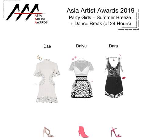{3D} Asia Artist Awards 2019 Performance